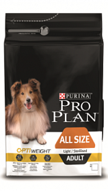 Pro Plan All Size Adult Light/Sterilised