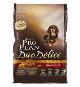 Pro Plan Duo Delice Small Breed Chicken & Rice